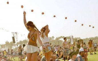 Foto di ragazze al Festival Coachella