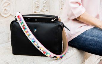 Foto della borsa Fendi DotCom con tracolla StrapYou