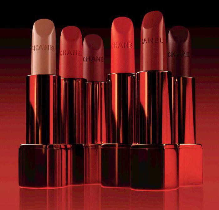 Foto rossetti Chanel Rouge