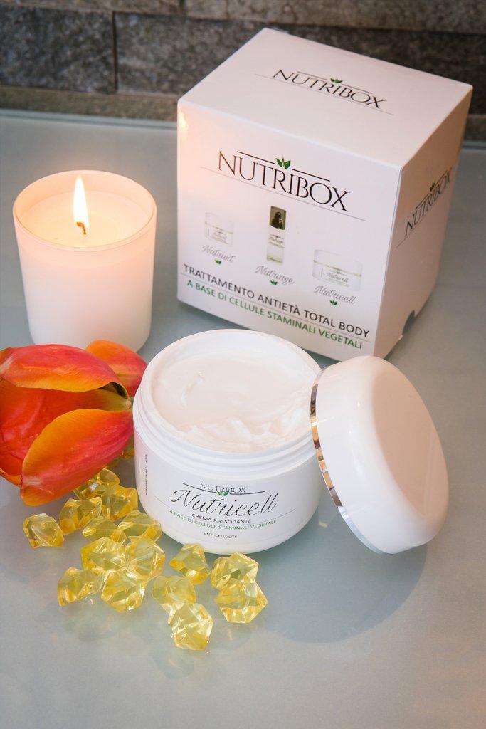 La crema anticellulite nel cofanetto Nutribox