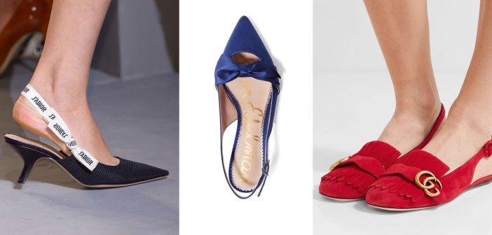 Scarpe Slingback: il Ritorno delle Iconiche Calzature