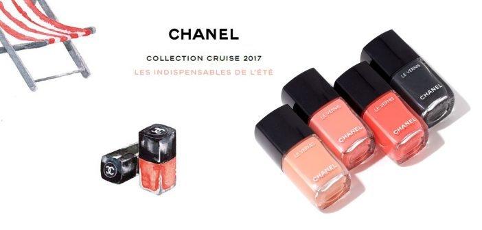Smalti Chanel Estate 2017. I Colori della Cruise Collection