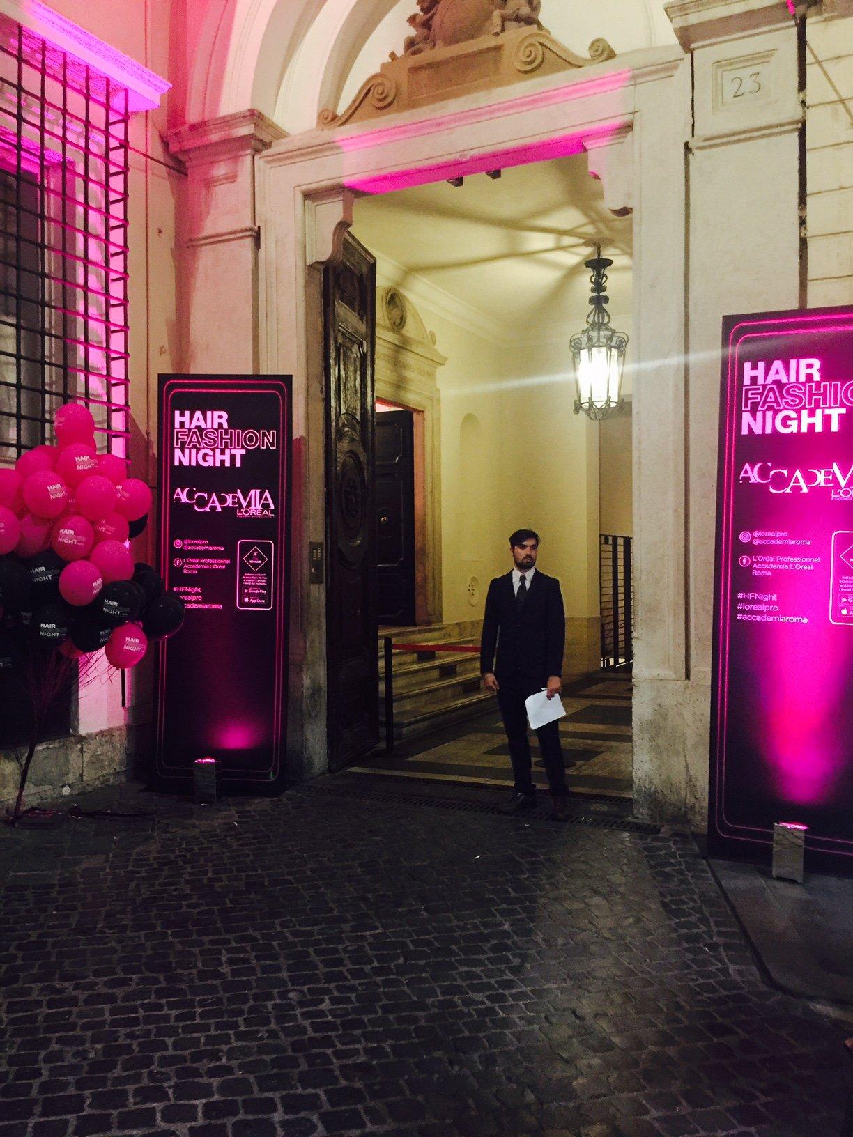 All'Accademia L'Oréal per la Hair Fashion Night