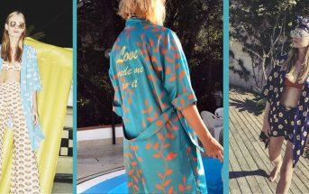 Kimono da spiaggia: trend estate 2017