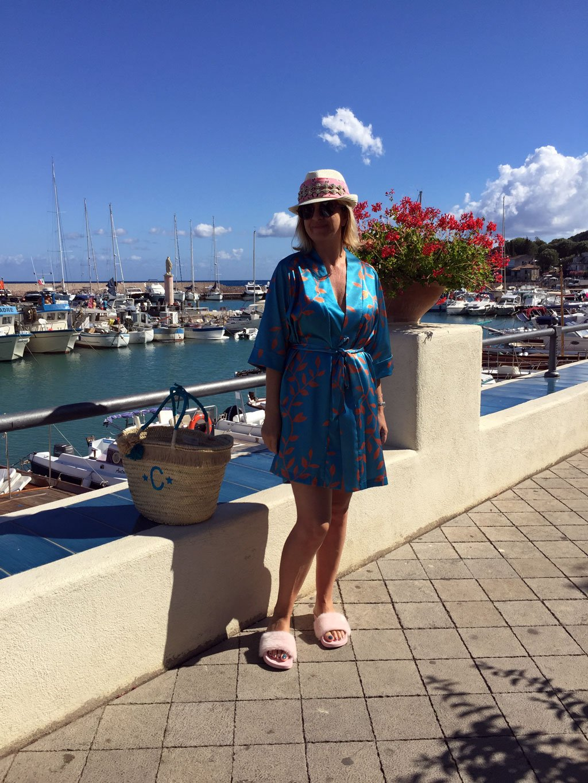tendenza kimono da spiaggia