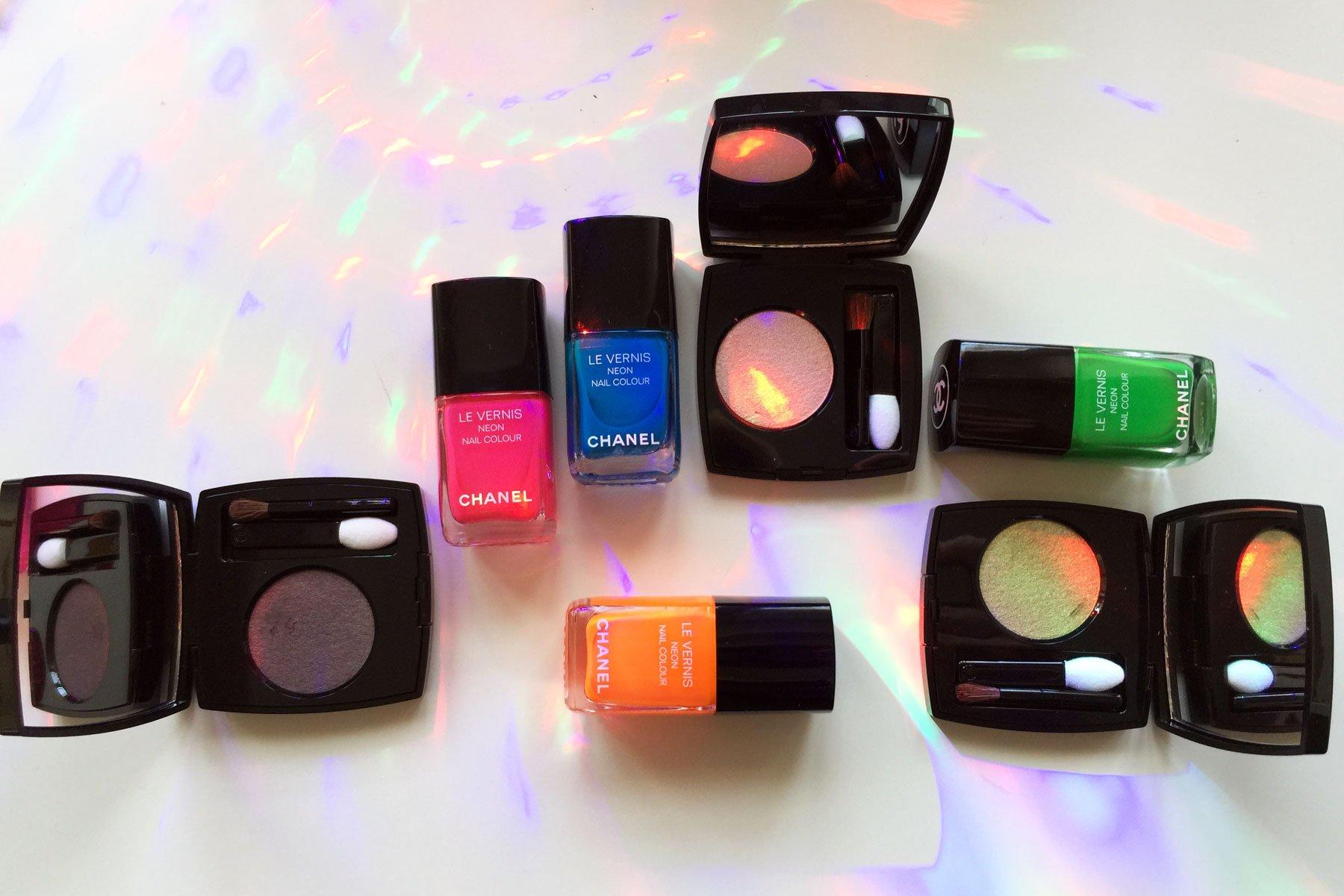 Make up Chanel Neon Wave estate 2017