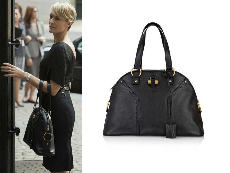La borsa di Claire Underwood