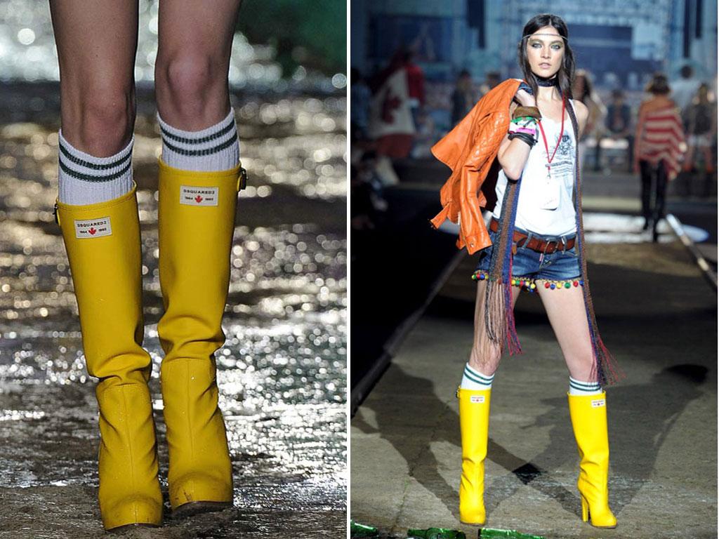 Stivali da pioggia DSquared