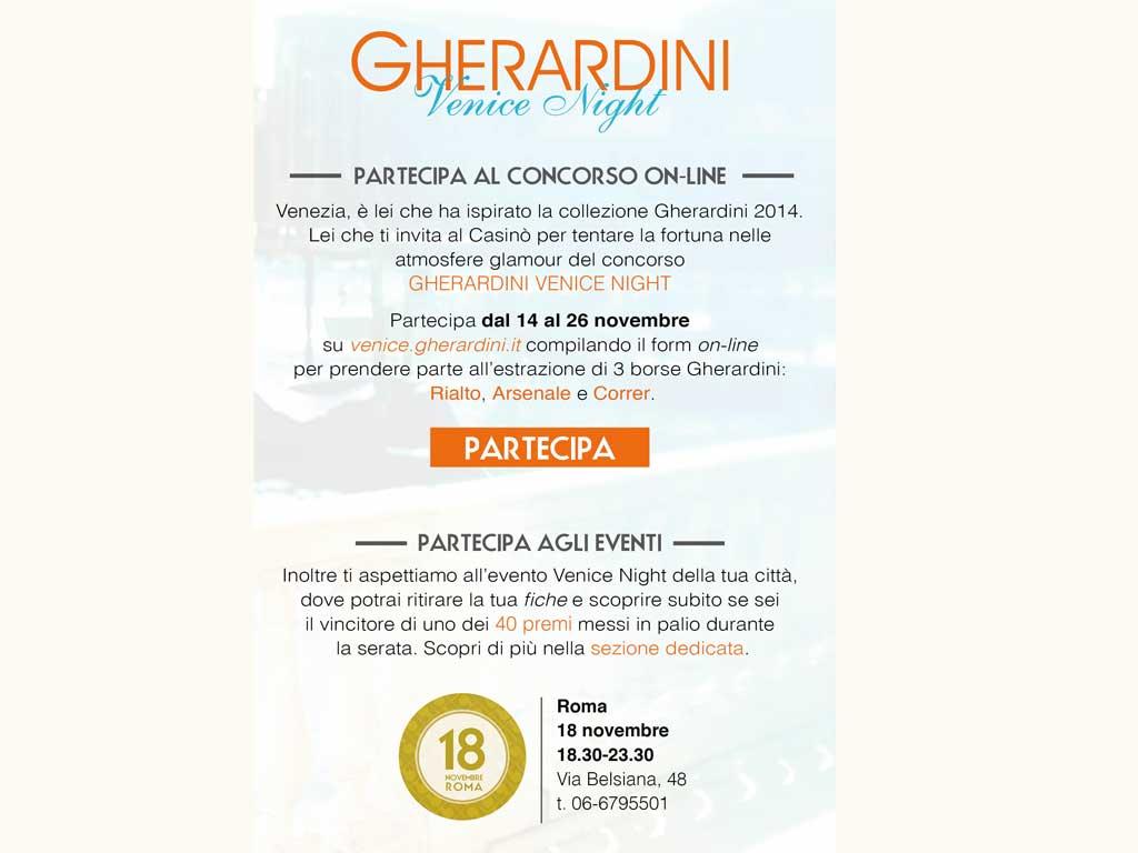 Gherardini evento