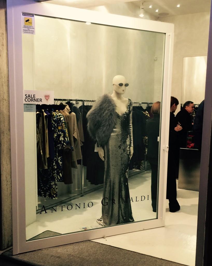 La boutique di Antonio Grimaldi