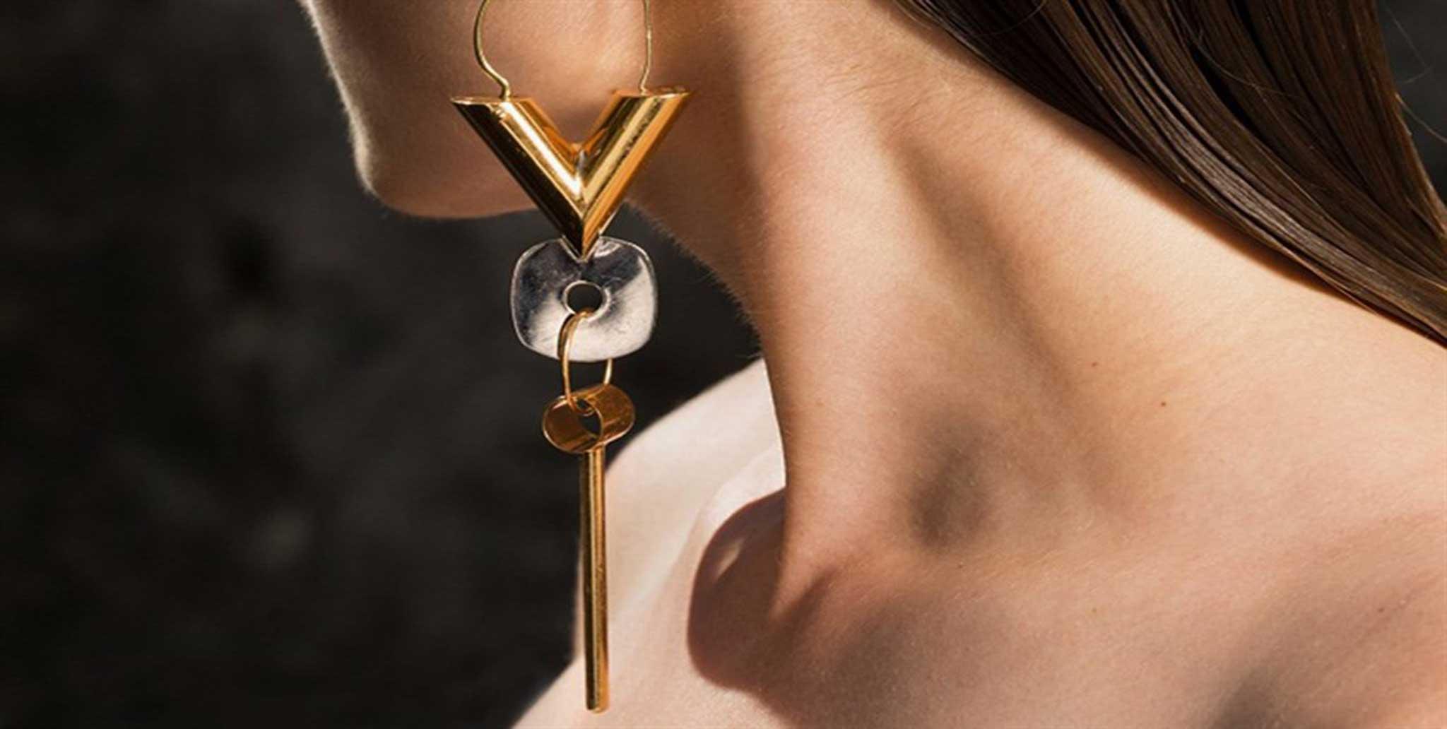 Orecchini singoli Louis Vuitton