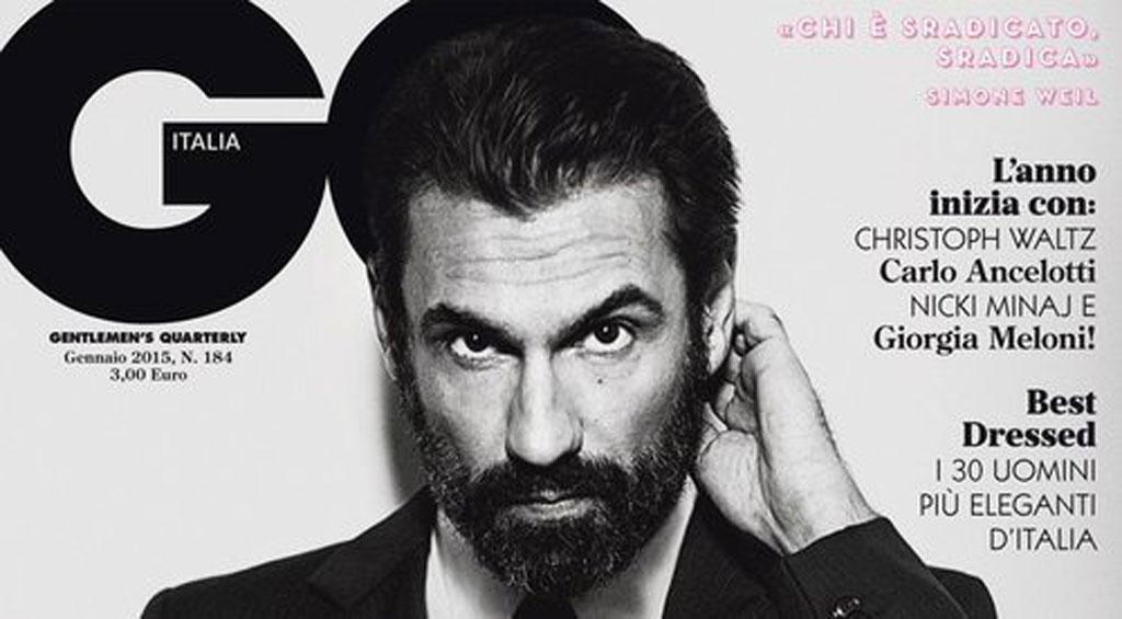 La copertina di GQ Italia