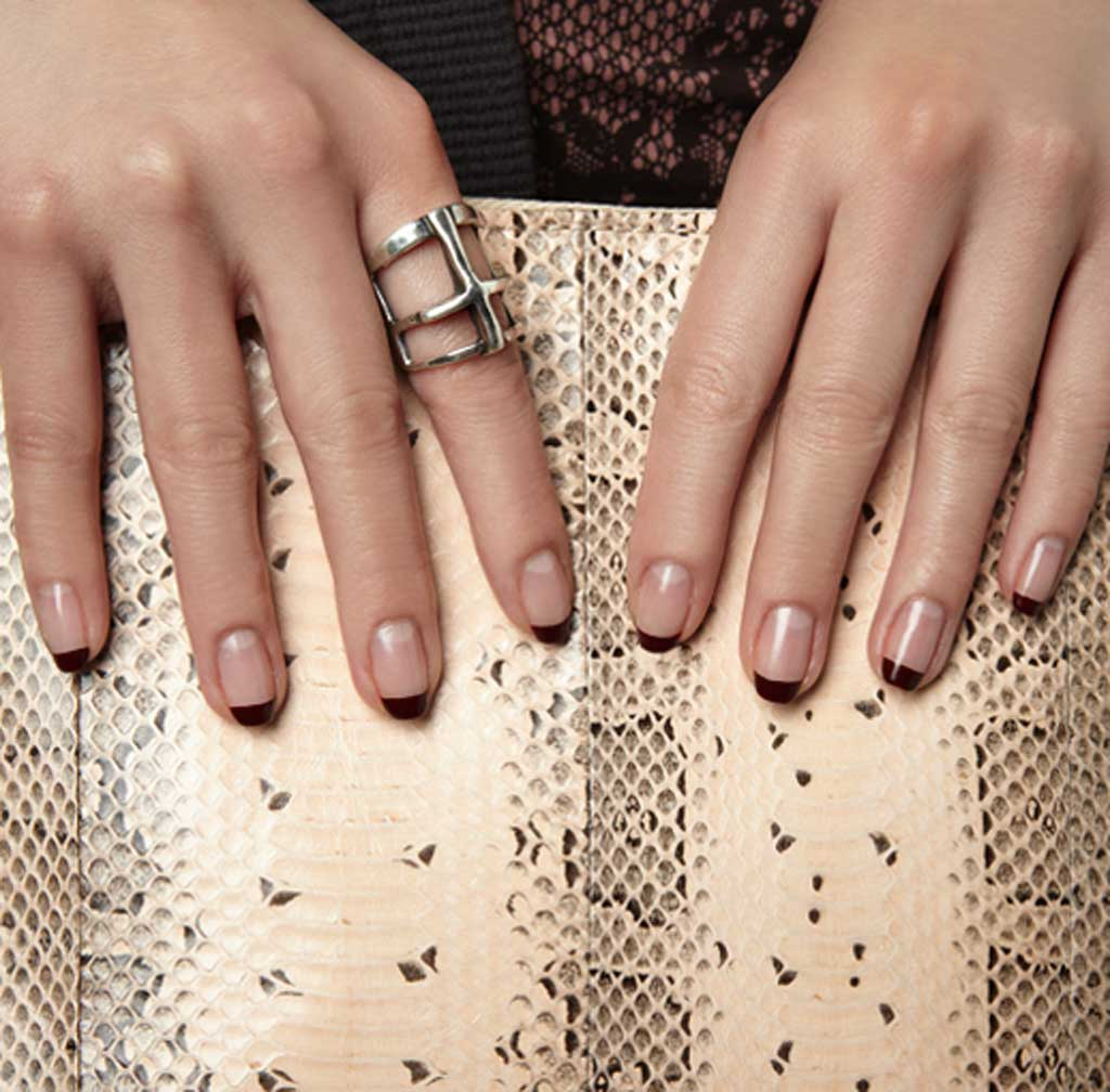 La manicure naturale