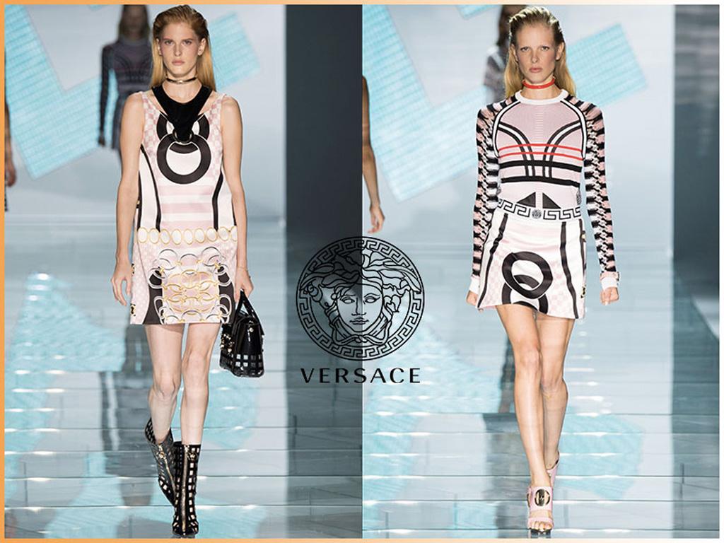 Stampe p/e 2015: Versace