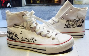 Le sneakers personalizzate di Free_ink