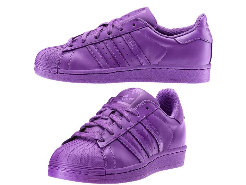 adidas colore viola