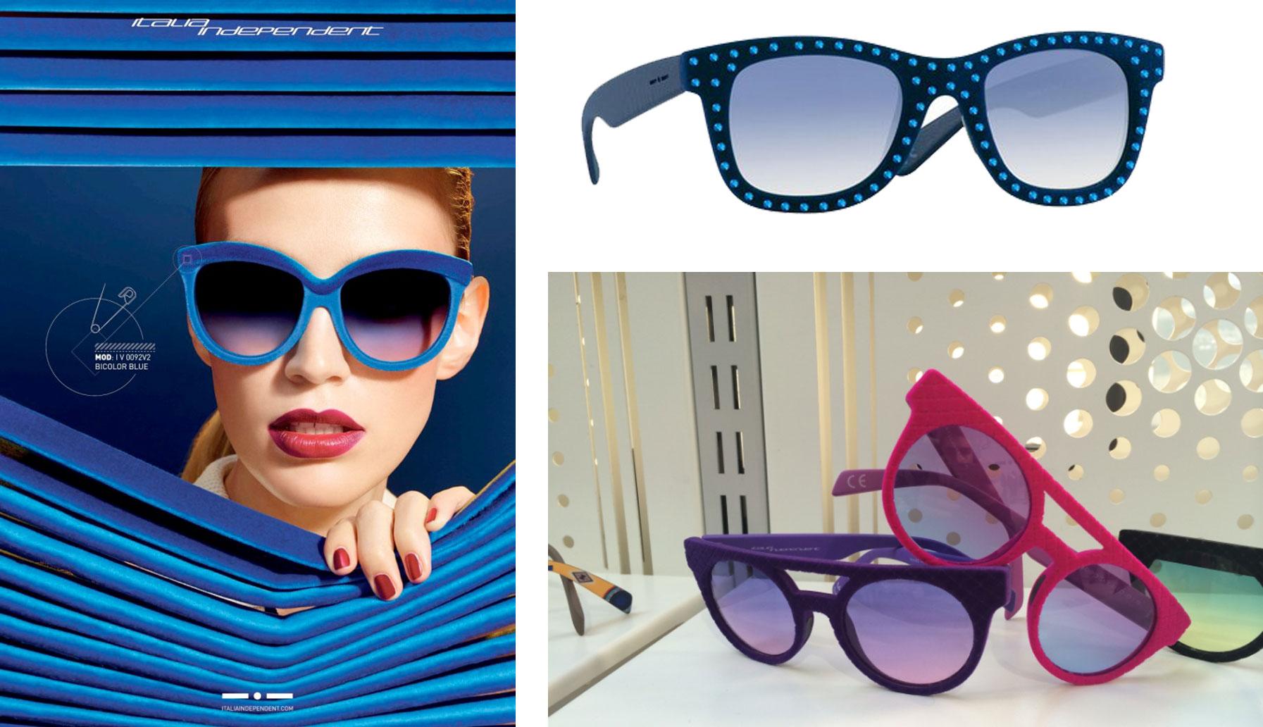 Occhiali da sole 2015: le montature colorate