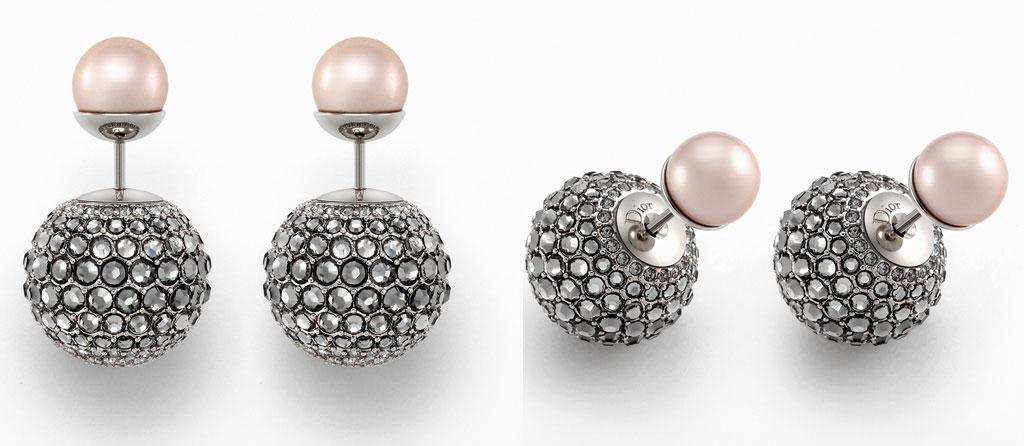 design raffinato 60% economico scarpe da corsa Orecchini Dior con la doppia perla