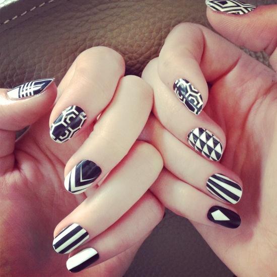 Le origini delle unghie decorate