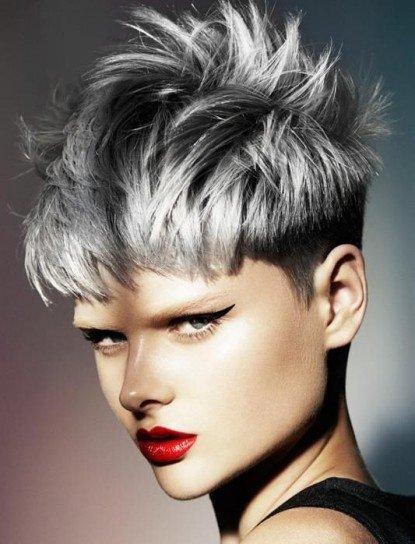 Colore capelli 2016: il grigio