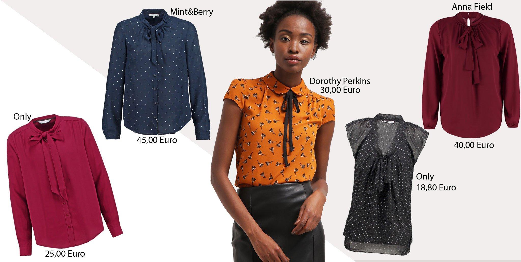 719a126fd03d Tendenze moda inverno 2016: i cinque capi indispensabili. 1) La camicia con  il fiocco