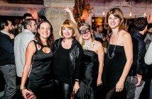 Con le amiche al Secret Party DJ Goose