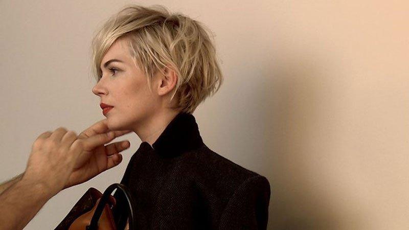 Tagli capelli 2016: il taglio corto di Michelle Williams