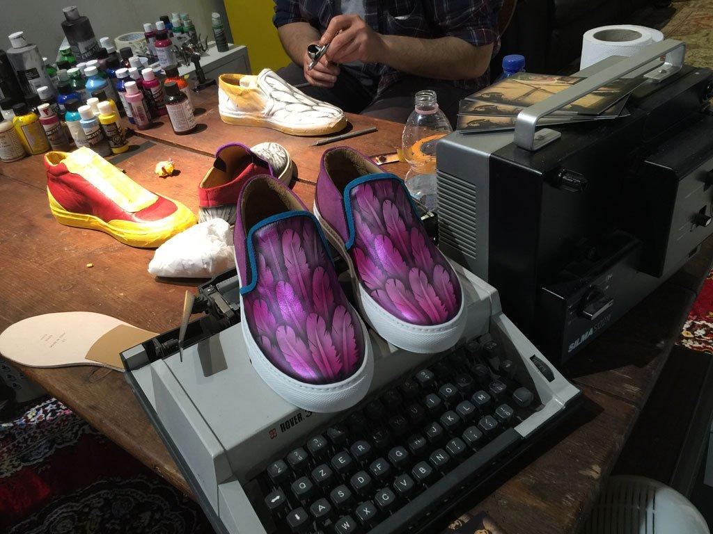 Sneakers Monkey Art&Co