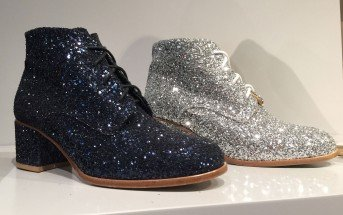 Glitter mania: le scarpe