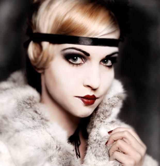 Vestiti anni 20 e il make up