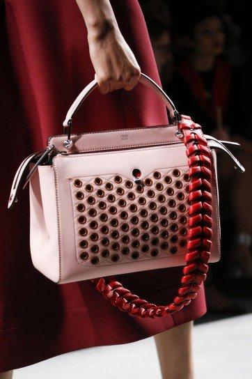 Colori moda p/e 2016: borsa Fendi
