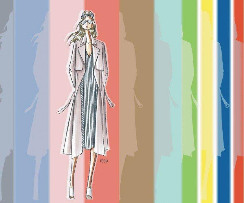 Tendenze colori moda 2016
