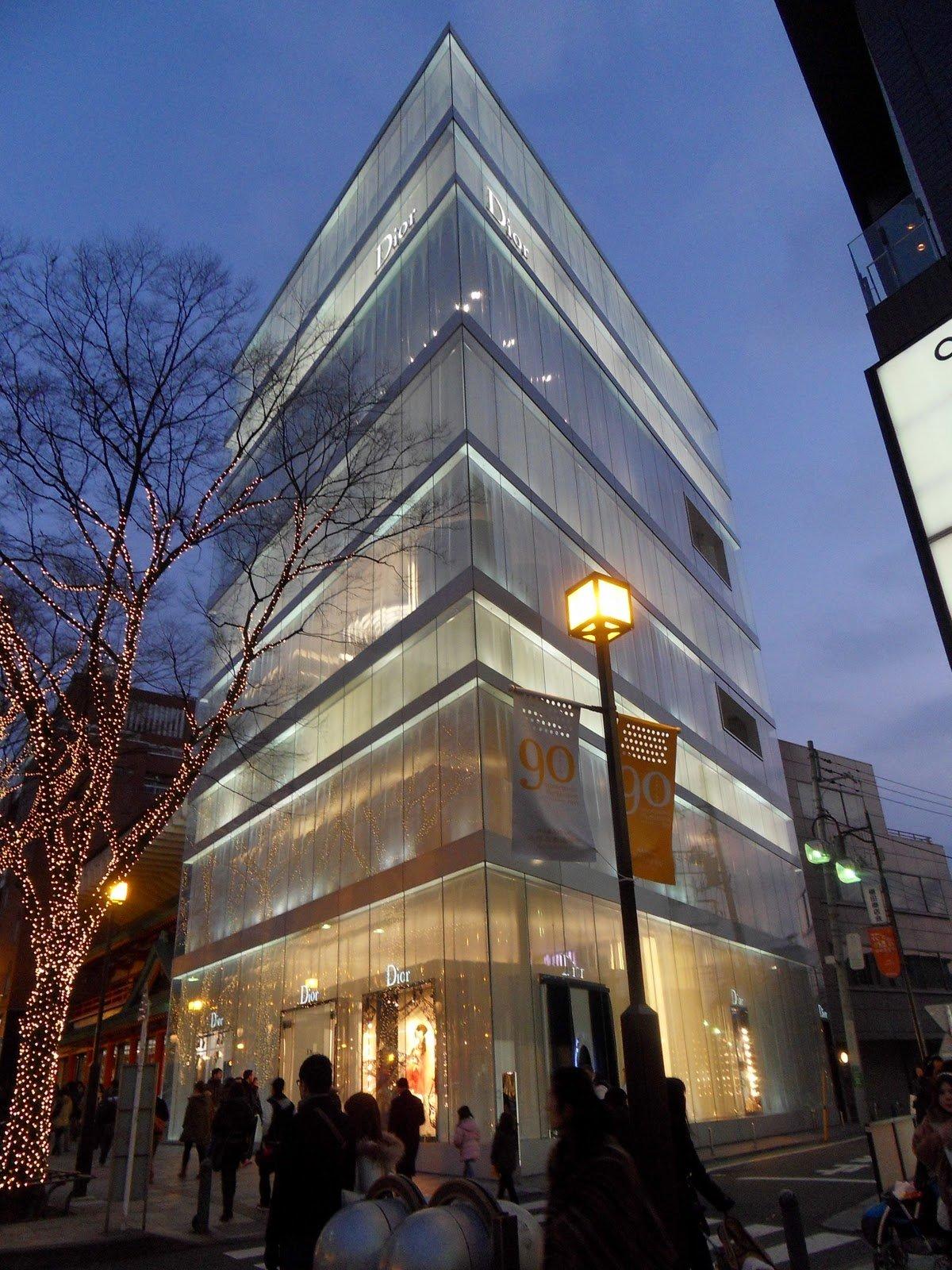 Tokyo Fashion: la boutique di Dior