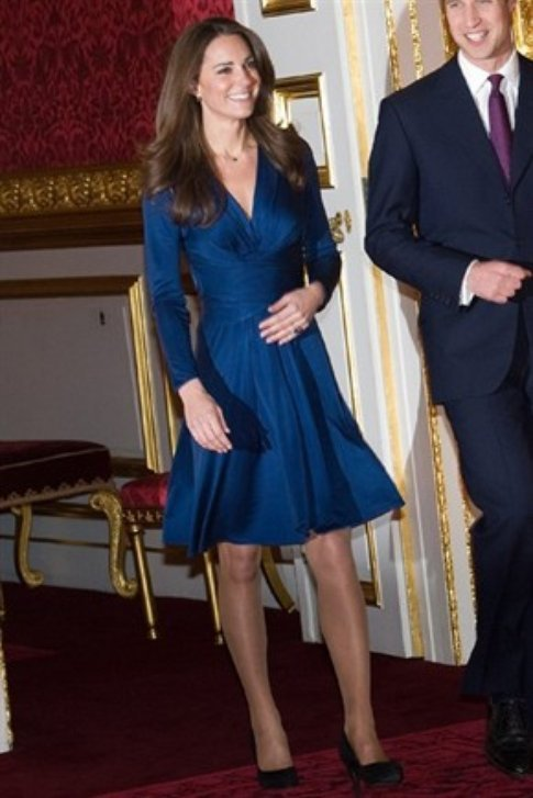 Calze color carne di Kate Middleton