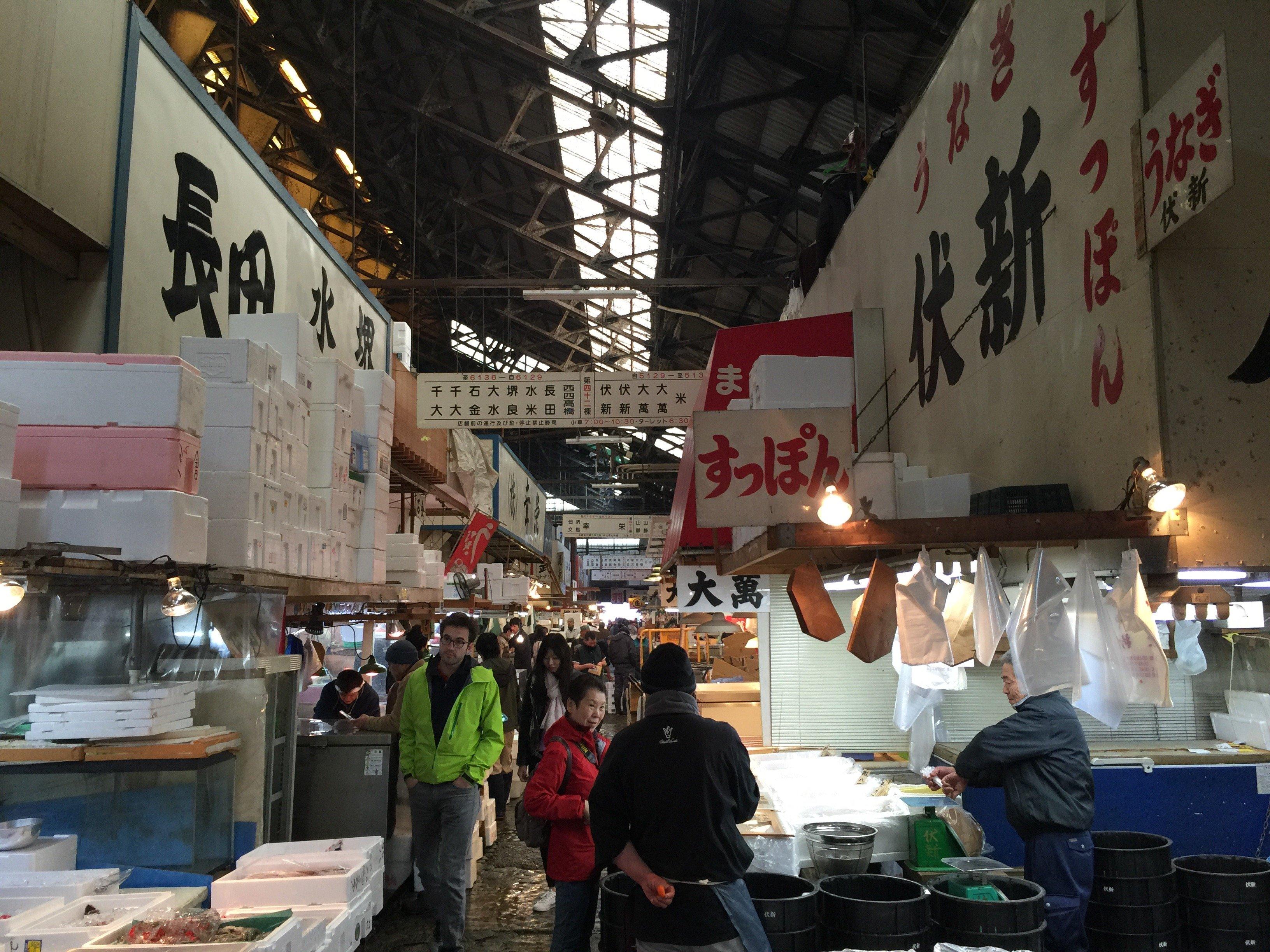 Tokyo fashion: il mercato