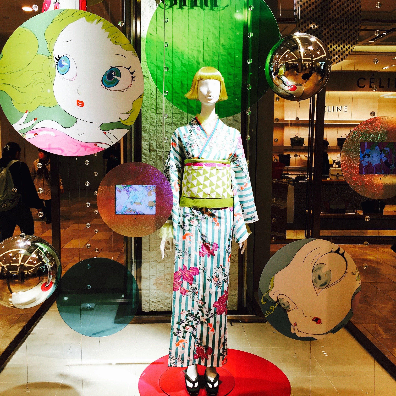 Tokyo fashion da Mitsukoshi