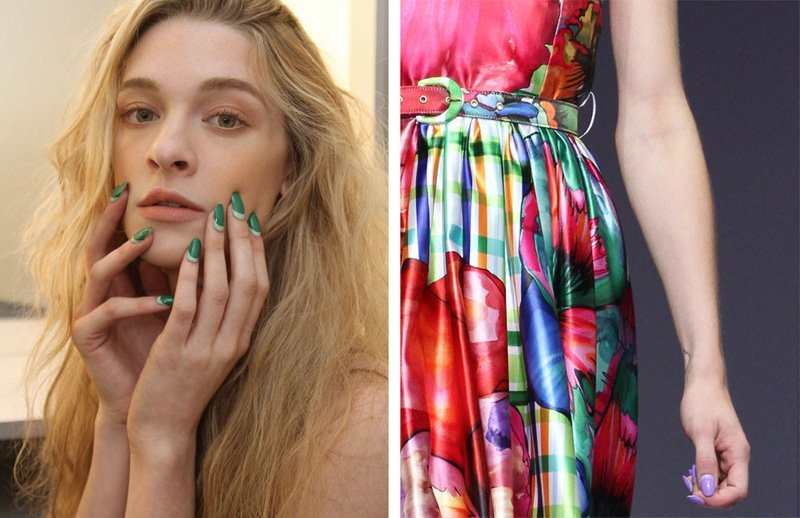 Unghie estate 2016: french manicure inversa