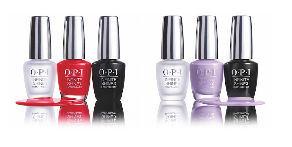 Smalti lunga durata Infinite Shine di OPI