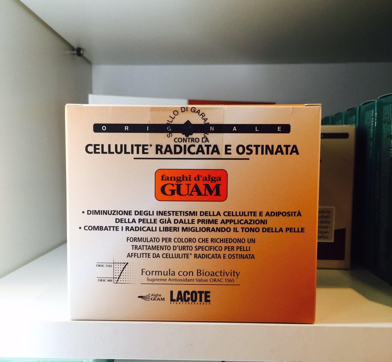 Foto del prodotto anticellulite di Guam