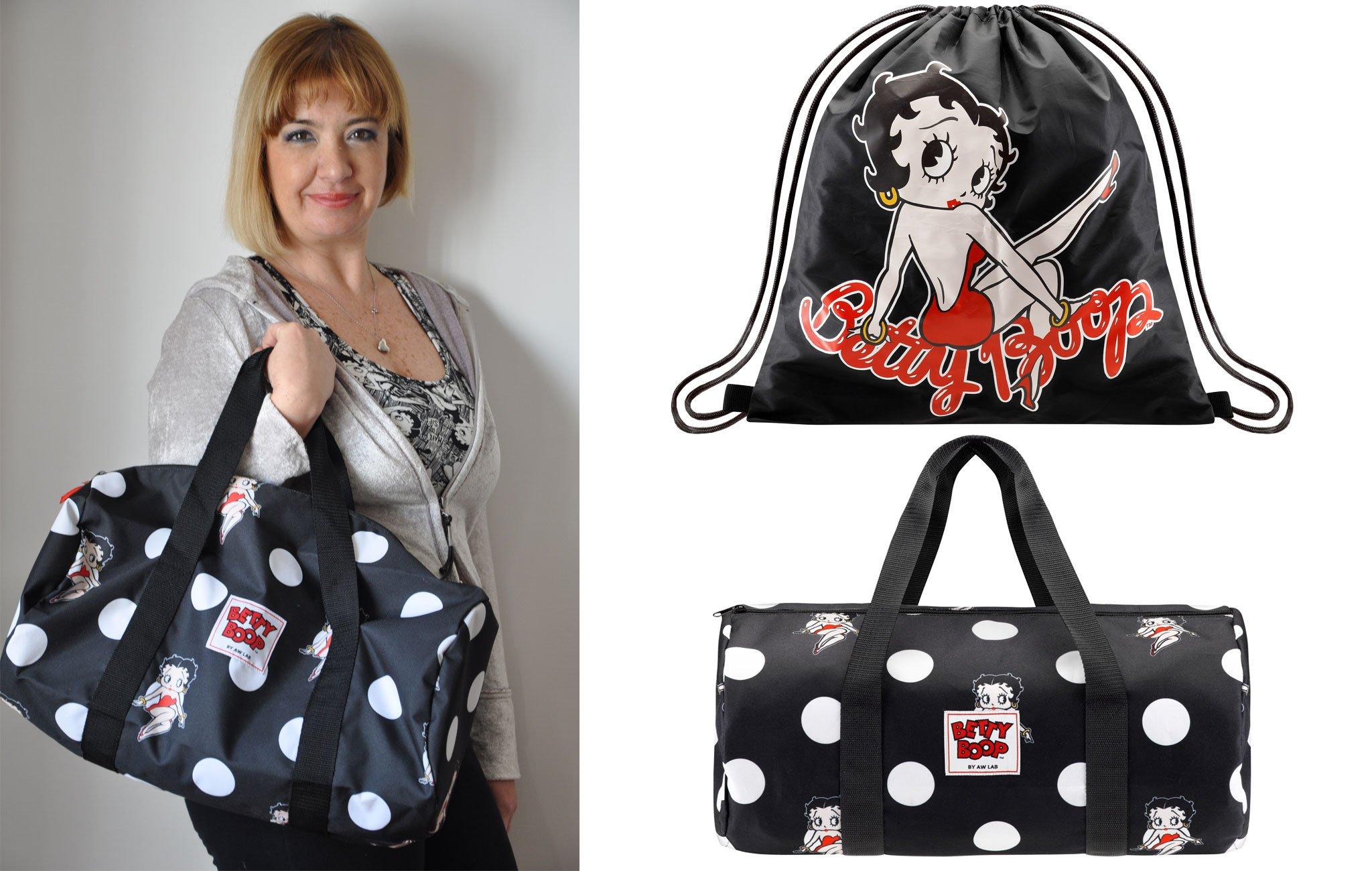 Foto delle borse da palestra di Betty Boop