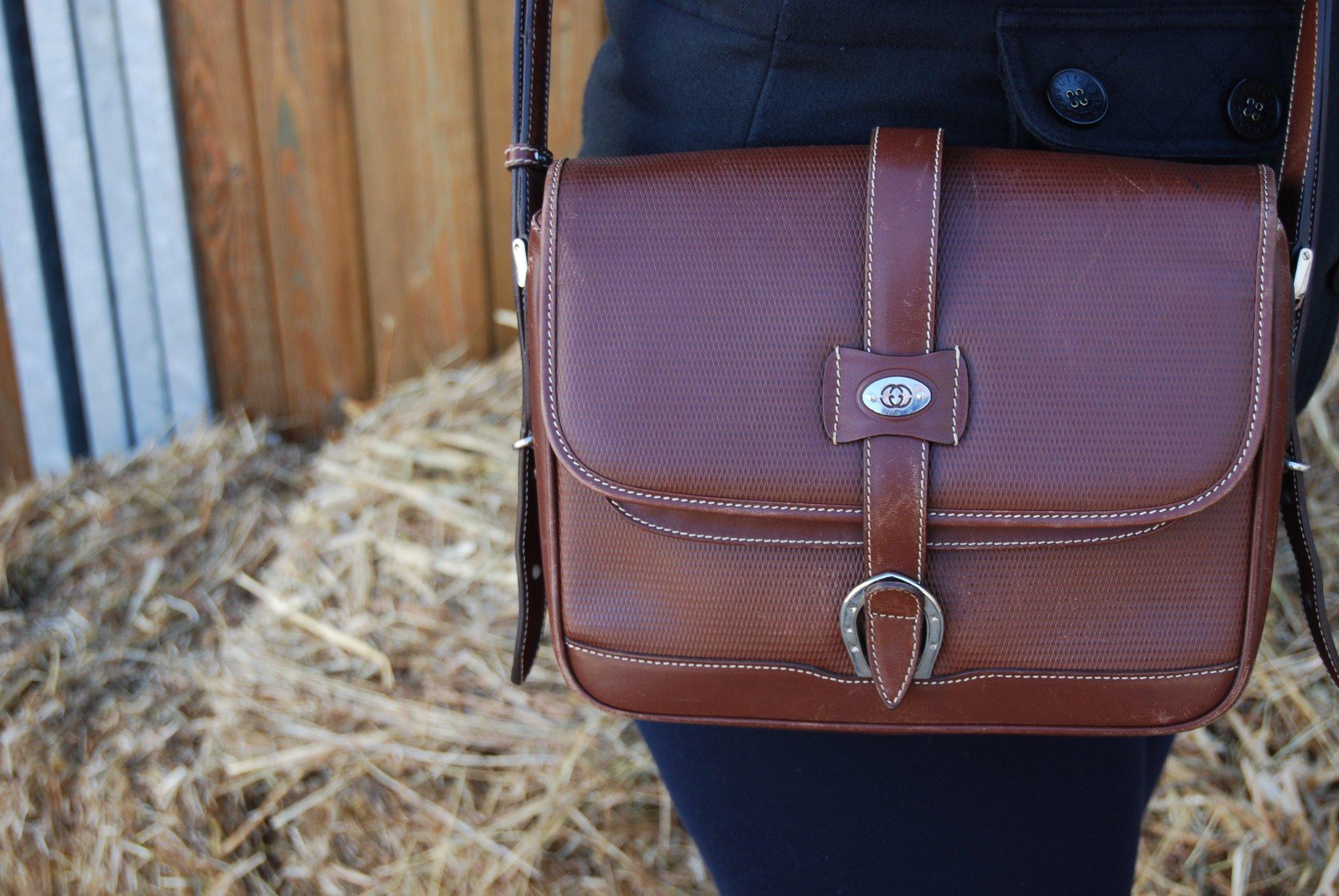 Foto di borsa Gucci in stile country