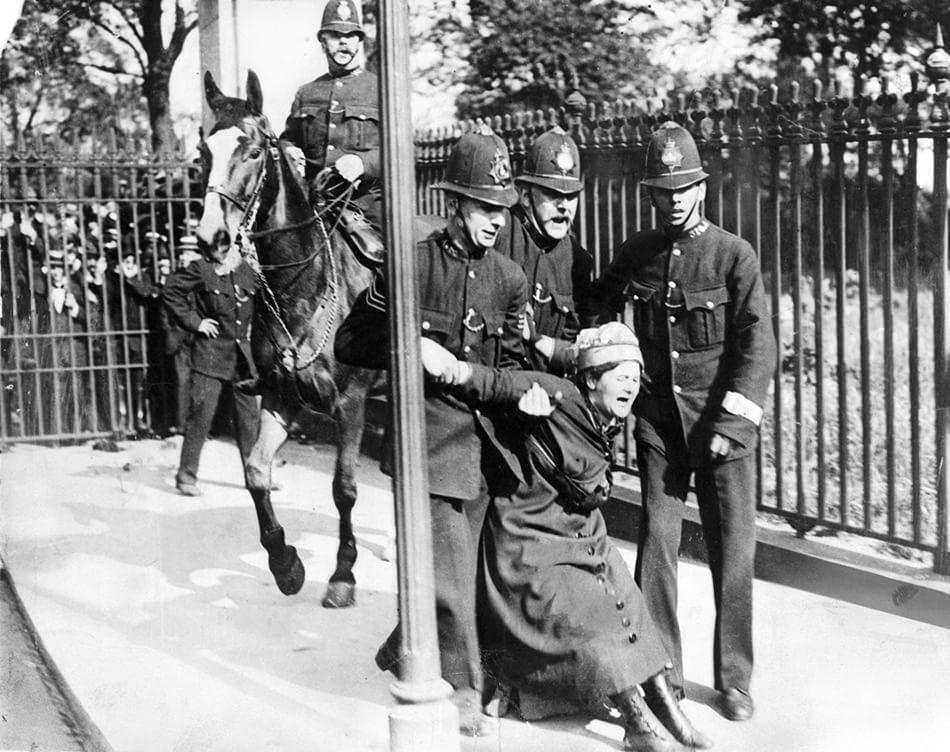 Arresto delle suffragette