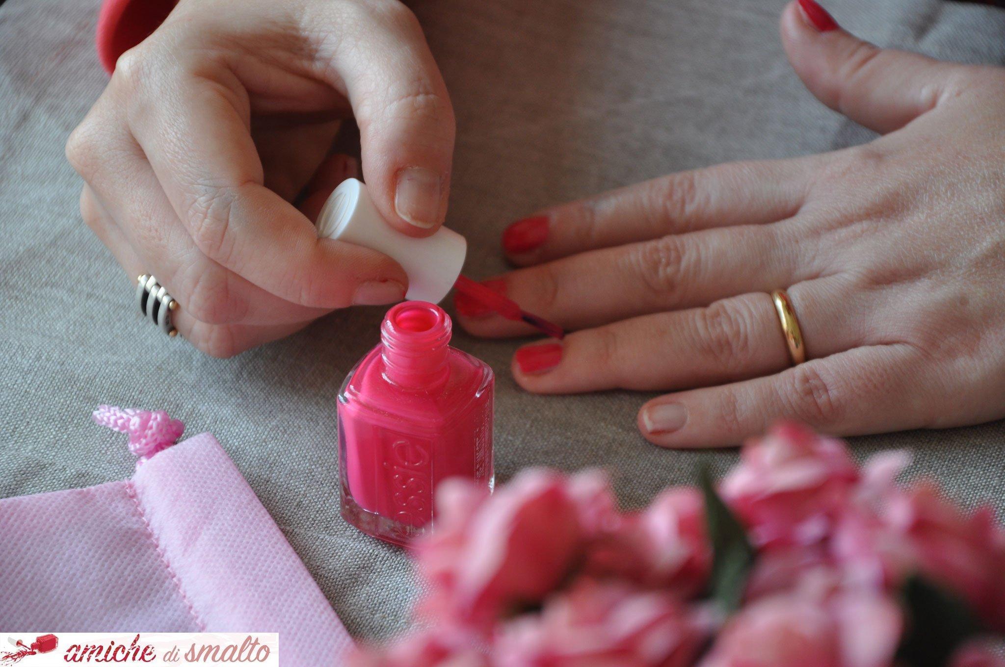 Foto della manicure di Claudia