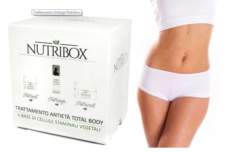 Il cofanetto Nutribox
