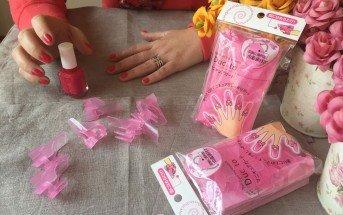Foto dei proteggi unghie e della manicure