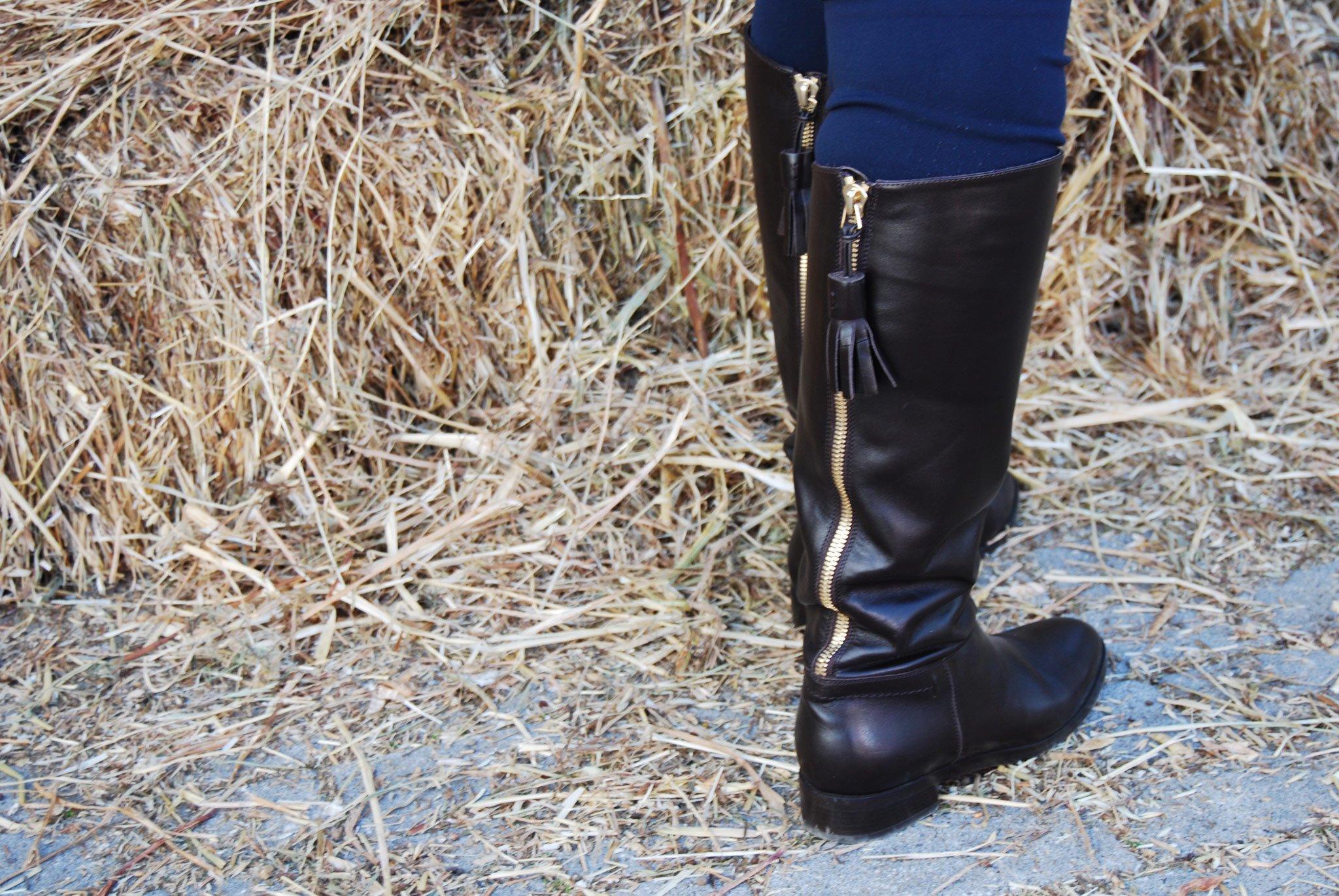 Foto di stivali da cavallerizza
