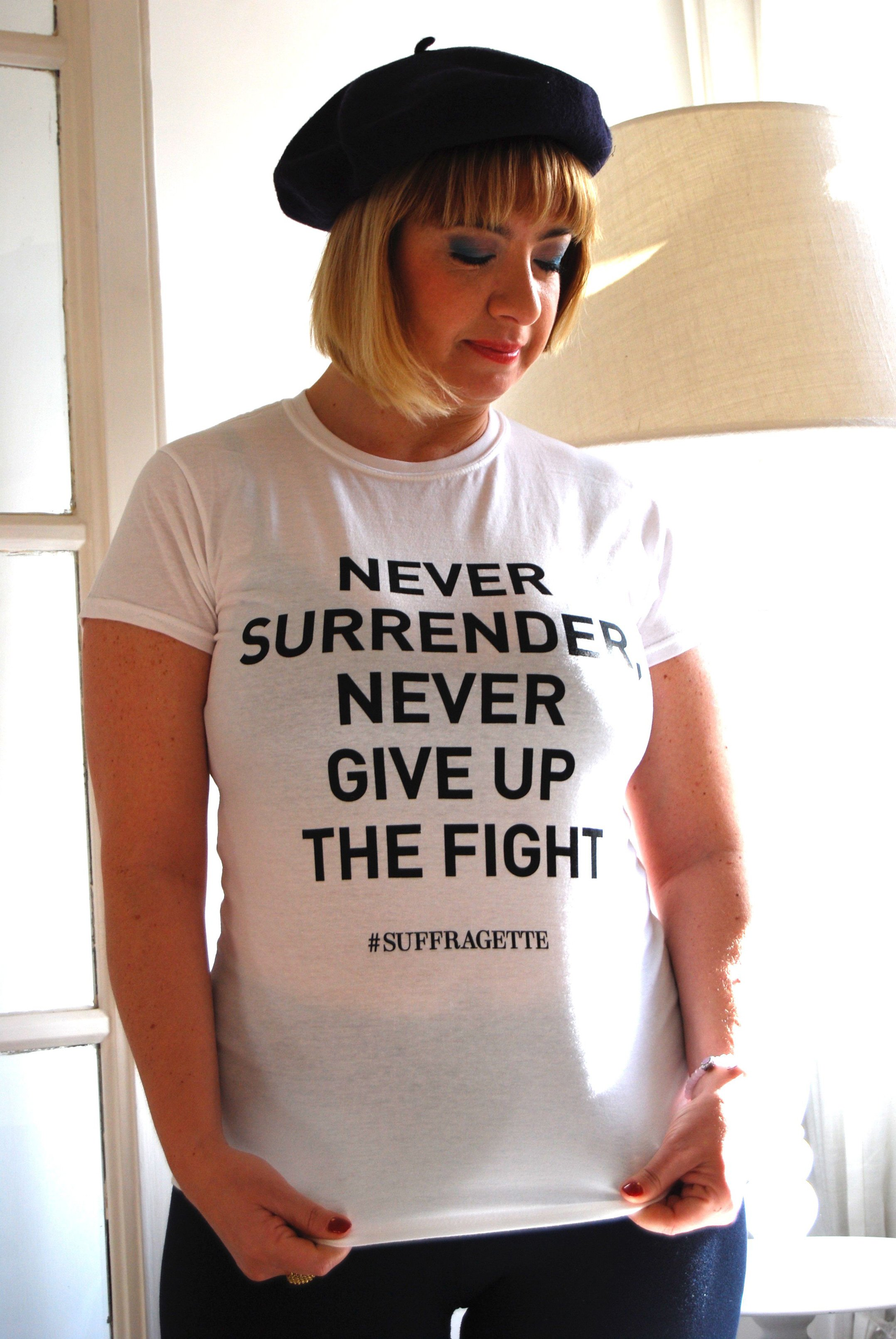 La t-shirt Suffragette