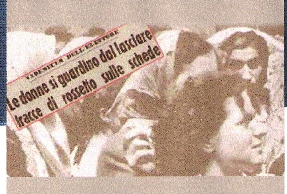 Il voto delle donne in Italia