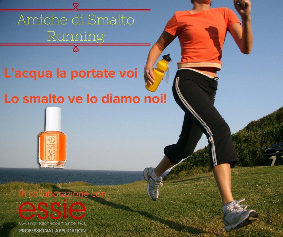 Amiche di Smalto Running è supportato da Essie Italia