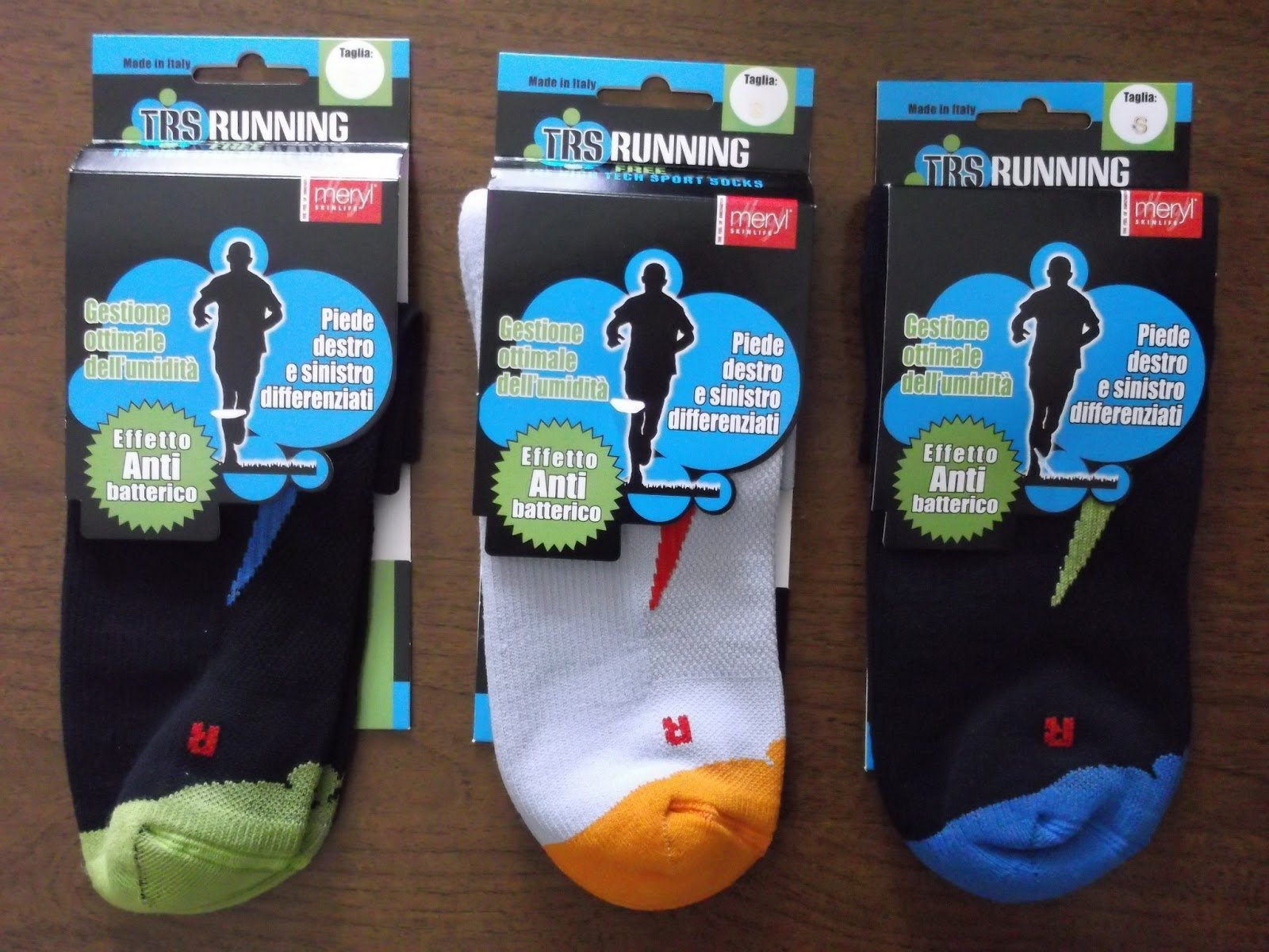 Foto di calzini per il running